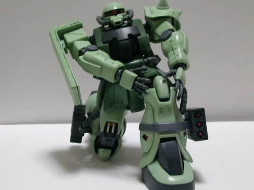MG ザクⅡF2型 完成: ミサイルポ...